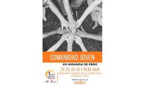 cartel Comunidad Joven 2019