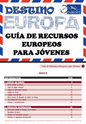 Guía de recursos europeos para jóvenes