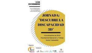 """Jornada """"Descubre la discapacidad 3D"""""""