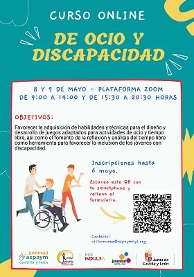"""Curso Online """"De Ocio y Discapacidad"""""""