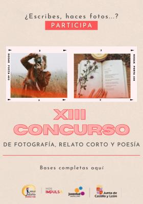 XIII Concurso de Fotografía, Poesía y Relato Corto