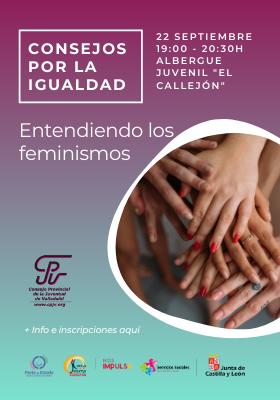 Consejos por la Igualdad – Entendiendo los Feminismos