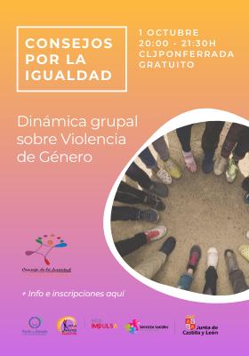 Dinámica grupal sobre Violencia de Género
